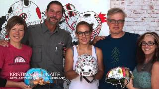 Nutcase Helmets Artists Unframed - YouTube