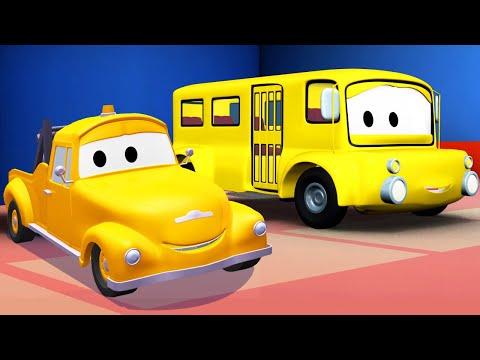 Эвакуатор Том - Лили автобус - Автомобильный Город