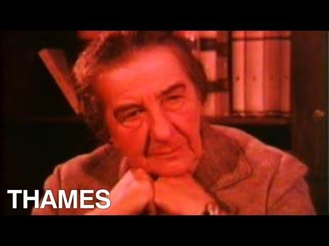 Israel - Prime Minister interview - Golda Meir (видео)