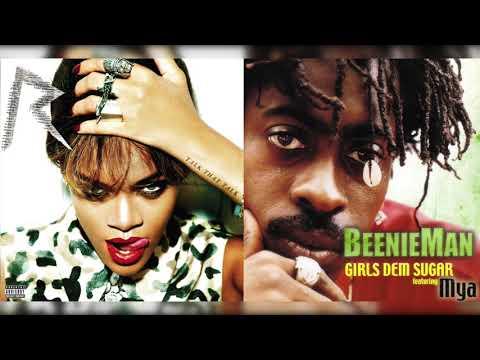 Rihanna x Beenie Man & Mya - Watch Dem Girls N' Learn (Mashup)