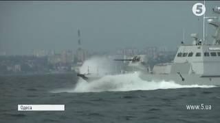 Артилерійські катери ВМС вийшли в море для випробувань
