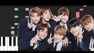 Video BTS - PIED PIPER (Piano Tutorial) MP3, 3GP, MP4, WEBM, AVI, FLV Juli 2018