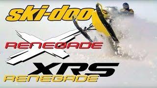 7. Ski-Doo Renegade XRS | Renegade X | 800X e-tec