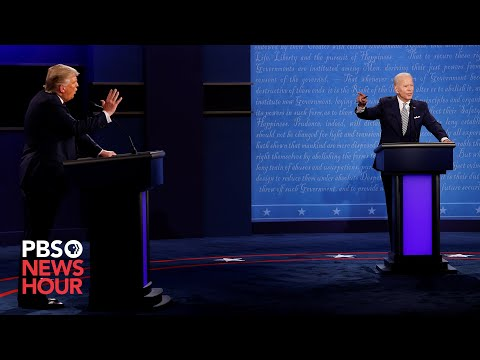 WATCH: The first 2020 presidential debate
