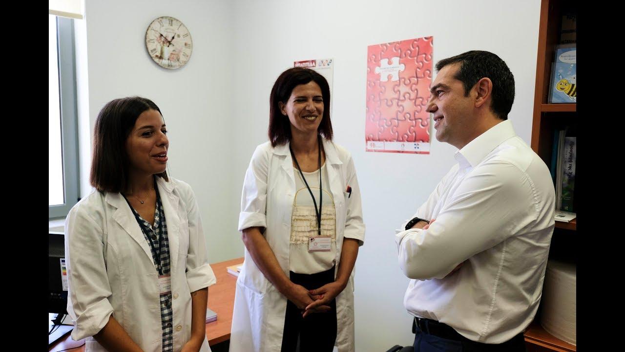 Επίσκεψη στην Τοπική Μονάδα Υγείας Χανίων
