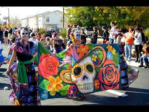 Dia de los Muertos Dancing in the Streets Antigua, Guatemala