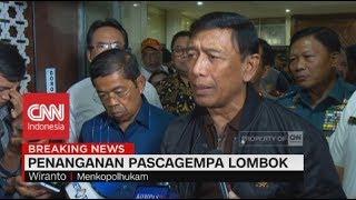 Video Pasca-gempa Lombok, Ini Langkah-langkah  Pemerintah; Menkopolhukam Wiranto MP3, 3GP, MP4, WEBM, AVI, FLV Agustus 2018