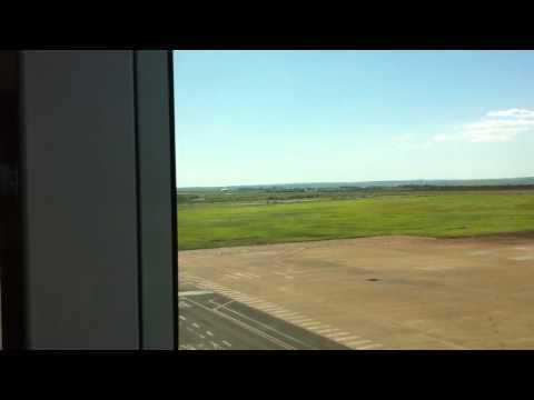 Avião da GOL pousando em Maringá