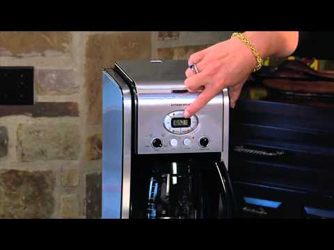CUISINART EXTREME BREW™ 12-CUP PROGRAMMABLE COFFEEMAKER (DCC-2650) DEMO VIDEO