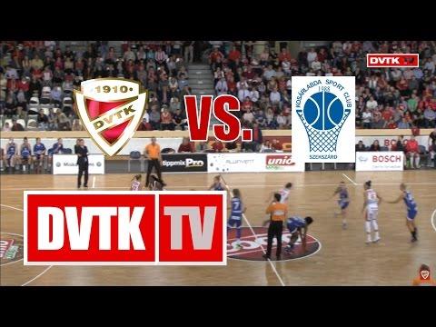 Női kosárlabda NB I. negyeddöntő, harmadik mérkőzés.  Aluinvent DVTK - KSC Szekszárd