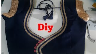 How To Apply And Attached Lase In Blouse With Colourfull Clothes/blouse designs