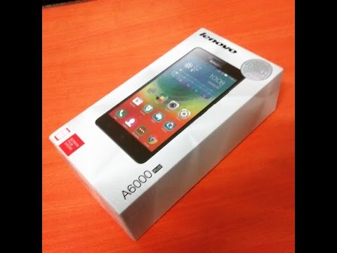 Lenovo A6000 plus unboxing and review