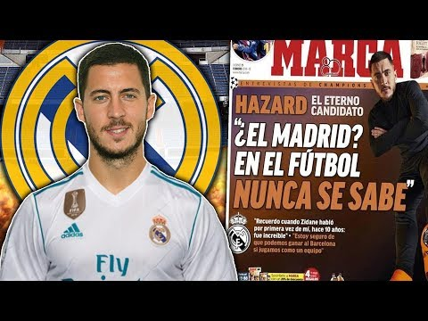 Video: BREAKING: Eden Hazard's Bust-Up With Chelsea To Force Real Madrid Transfer?! | W&L