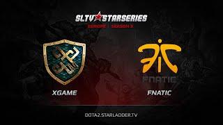xGame.kz vs Fnatic, game 1