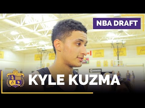 Video: Lakers Draft Prospect: Kyle Kuzma Interview (Utah, Forward)