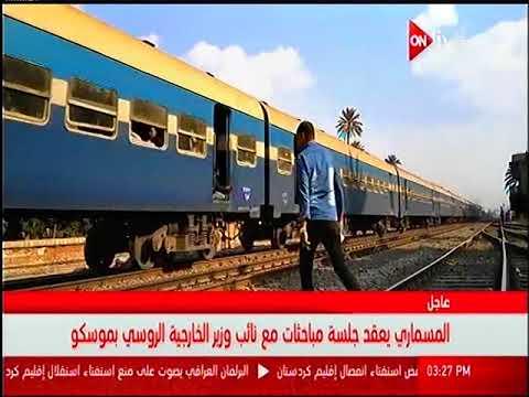وزير النقل يبحث زيادة حجم المنقول من الحاويات عبر السكك الحديدية