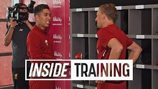 Video Incredible behind the scenes access at Liverpool FC pre-season training | Inside Training MP3, 3GP, MP4, WEBM, AVI, FLV Juli 2019