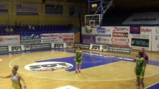 Horizont Minsk vs Isnatbul University – EEWBL 01.04.17 Kosice