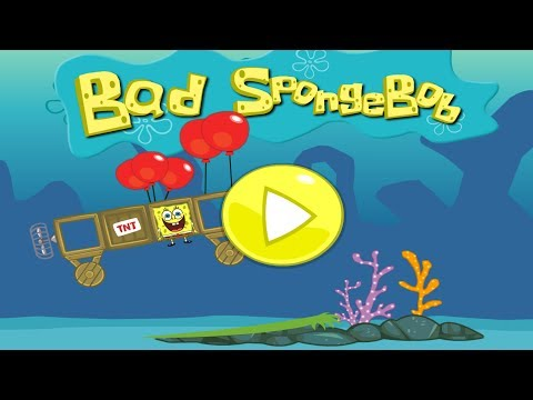 Bad SpongeBob Gameplay Trialer - Bad Piggies Game Remake