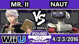 Pound 2016 – Mr.II (Robin) Vs. Naut (ROB) SSB4 Pools – Smash Wii U – Smash 4