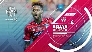 Kellyn Acosta | #4 24 Under 24 by Major League Soccer