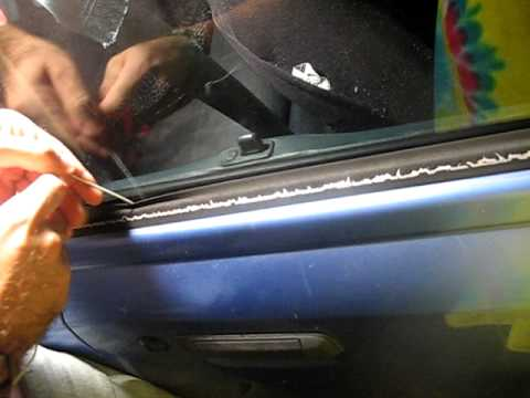 how to open a locked car - This is a simple demonstration of how to open a locked car door of an older model car with a coat hanger. Be smart, use this information for the betterment o...