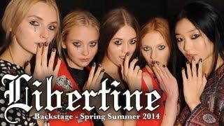 Libertine SS14 Fashion Show - BACKSTAGE! - New York Fashion Week With Dr. Lisa Airan