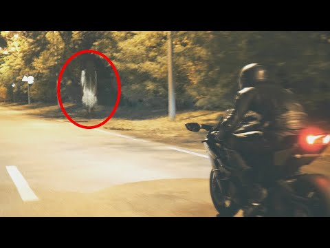 Ghost spotted while riding!! Scary GHOST Videos Caught on Tape (UNBELIEVABLE)
