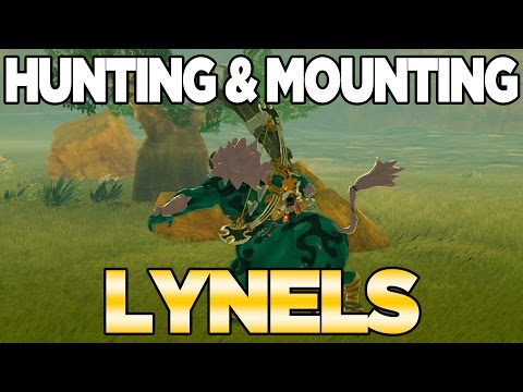 Mounting a Lynel in Breath of the Wild - CAN WE DO IT!?!?!? (видео)