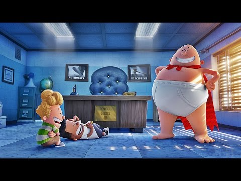 'Captain Underpants: The First Epic Movie' Official Trailer (2017)