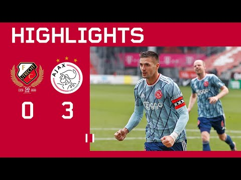 Highlights | FC Utrecht - Ajax | Eredivisie