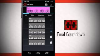 Final Countdown - Widget YouTube video