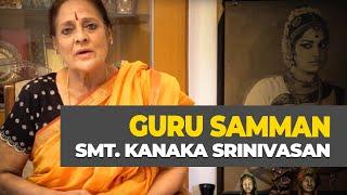 Guru Samman - Smt. Kanaka Srinivasan - Indradhanush Dilli 2016