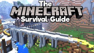 Building a Medieval Bridge! • The Minecraft Survival Guide (Tutorial Lets Play) [Part 44]