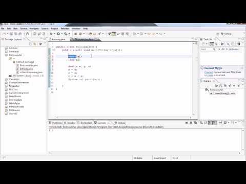 Java Tutorial 4 – Noch mehr Datentypen