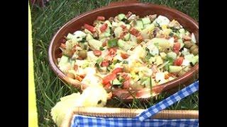 Videoricetta: insalata estiva con uova e tonno