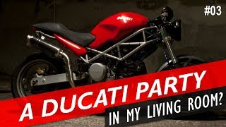 2. Ducati Monster 620 First Ride