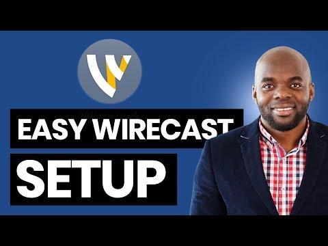 Wirecast 9 Tutorial