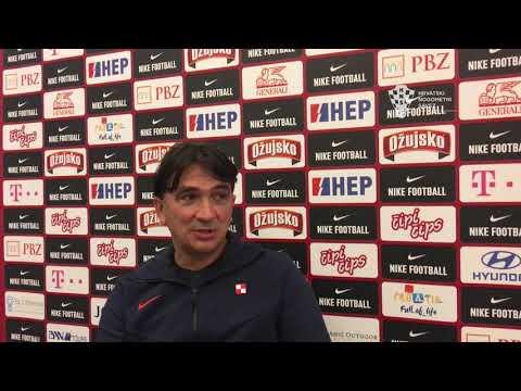 Zlatko Dalić najavljuje utakmicu s Turskom