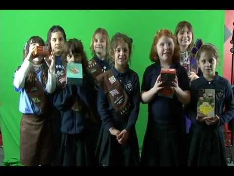 Girl Scouts Just Wanna Have Fun - Brownie Troop's Cookie Sales Video