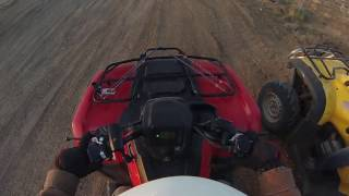 10. Vid #73 - loop ride highlights, 2016 Honda Rancher & 2006 Honda Foreman (3/24/17)