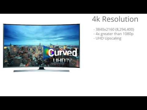 Samsung UN55JU7500 Curved 55 Inch 4K Ultra HD TV Virtual Review
