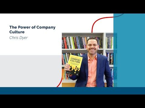 The Power of Company Culture @ChrisPDyer with @TheDovBaron