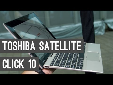 , title : 'Toshiba Click 10 2 in 1 Tablet & Keyboard Unboxing: Low-End Full Microsoft Windows 10 Computer'