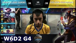 Video CLG vs Golden Guardians | Week 6 Day 2 of S8 NA LCS Spring 2018 | CLG vs GGS W6D2 G4 MP3, 3GP, MP4, WEBM, AVI, FLV Agustus 2018