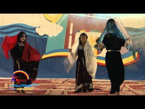 رقصة الغيلي ورقصة الهبيش فرقة نسور حضرموت