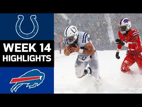 Colts vs. Bills  NFL Week 14 Game Highlights