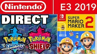 Nintendo Direct E3 2019 NEWS! What To Expect With Pokemon Sword and Shield! by Verlisify