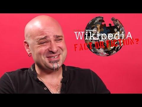 "Disturbed's David Draiman plays ""Wikipedia Fact or Fiction"""