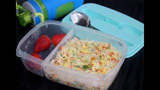 Video 10 മിനിറ്റിൽ കുട്ടികൾക്ക് lunch തയ്യാറാക്കാം ||Easy Fried Rice for Kids||Anu's Kitchen MP3, 3GP, MP4, WEBM, AVI, FLV Juni 2018